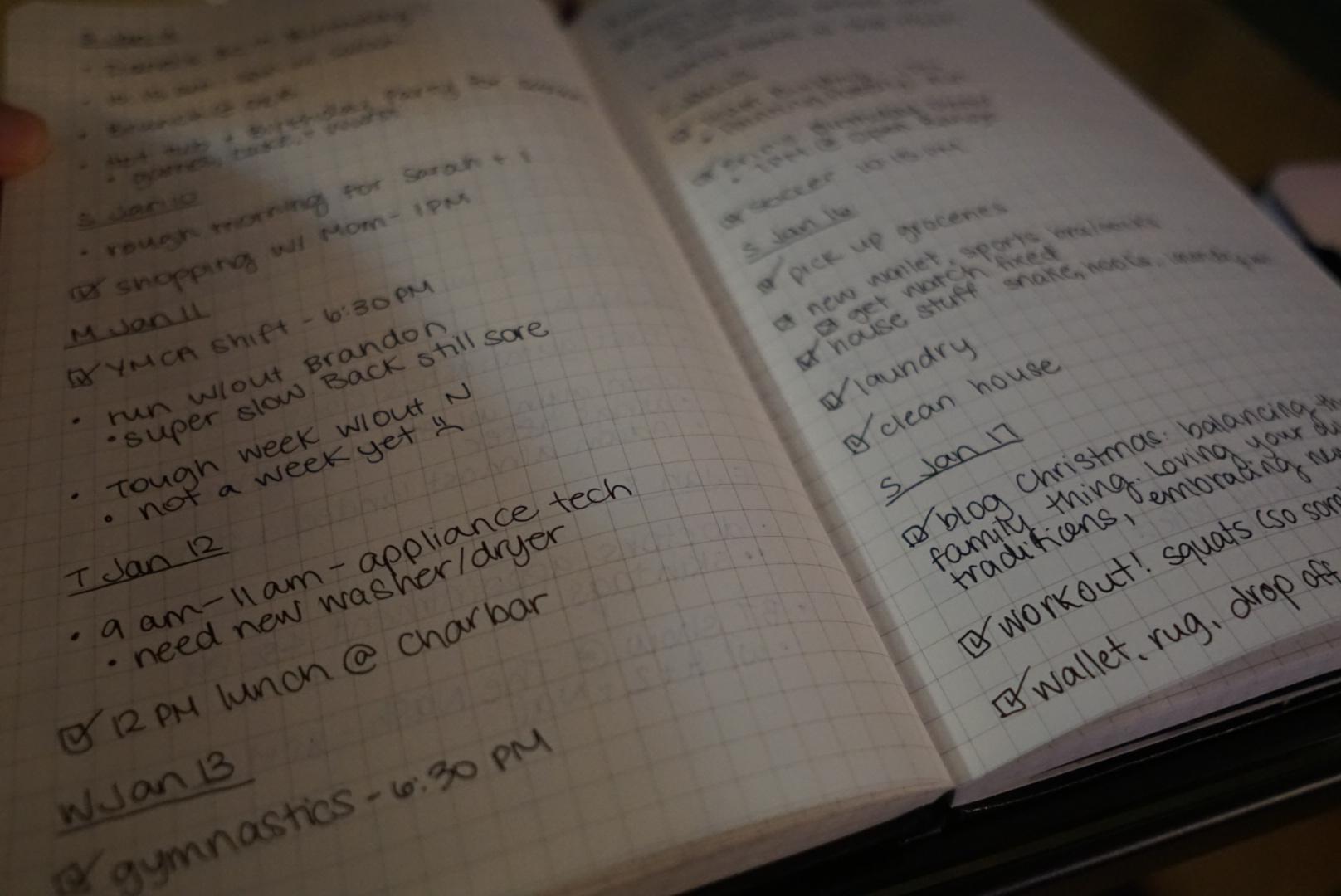 Bullet Journal Details